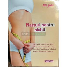 4 Plasturi pentru slabit, detoxifiere, celulita, Naturalia Diet