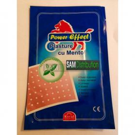 Plasture cu Mentol Power Effect