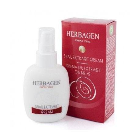 Crema cu extract din melc, 100 g, Herbagen