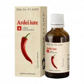 Tinctura de Ardei iute, 50 ml, Dacia Plant