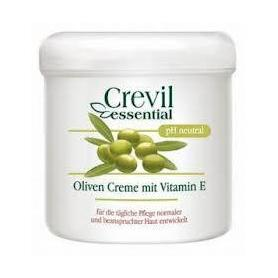 Crema de fata cu ulei de masline si vitamina E, 250 ml, Crevil