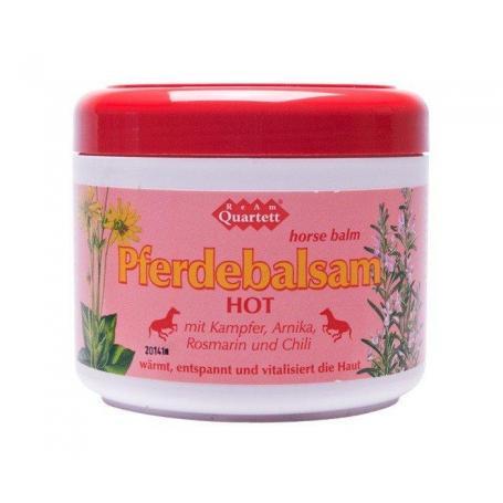 Pferdebalsam Hot (balsam cabalin) 500 ml, Quartett