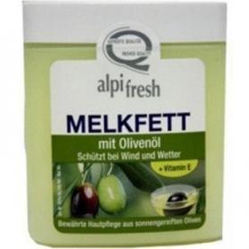Melkfett, crema grasa emolienta pentru fata si corp cu ulei de masline,vitamina E,Alpifresh