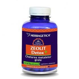 Zeolit Detox+, 60 capsule, Herbagetica
