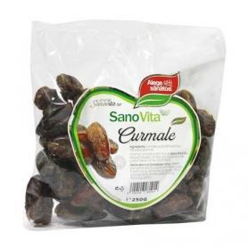 Fructe uscate Curmale fara samburi, 250g, Sanovita