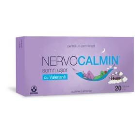 Nervocalmin somn usor cu valeriana, 20 capsule moi, Biofarm