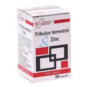 Tribulus terrestris Zinc, 30 capsule, FarmaClass