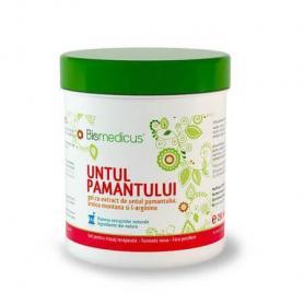 Gel untul pamantului, arnica si L-arginina, 250 ml, Biomedicus