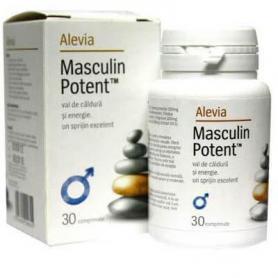 Masculin potent, 30 capsule, Alevia