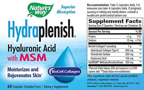 Hydraplenish, 60 capsule, Secom